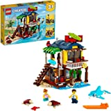 LEGO 31118 Creator 3 in 1 Surfer Beach House, Lighthouse & Pool House Summer Building Set