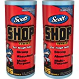 Scott 75130 Shop Towels, 55 Towels, 2 Pack