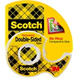 Scotch 237 Double Sided Tape, Transparent, 19 mm x 7.62 m