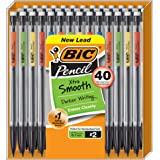 BIC Xtra Smooth Mechanical Pencil, Medium Point (0.7mm), 40-Count