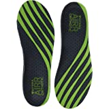 Sof Sole Men's AIRR Orthotic Support Full-Length Insole, Green, Men's 13-14