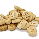 Treat Hunters - Grain-Free Peanut Butter Dog Biscuit Treats | Gluten-Free and Lactose-Free | Pretzel Paradise Shaped | Easy t