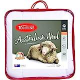 Tontine Australian Wool Quilt, King, White
