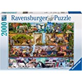 Ravensburger 16652 Wild Kingdom Puzzle 2000pc Jigsaw Puzzle