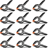 Neewer 12-Pack Muslin Backdrop Spring Clamp 4.5 inches/11.4 Centimeters Heavy Duty Clip for Photo Studio Photography Backgrou