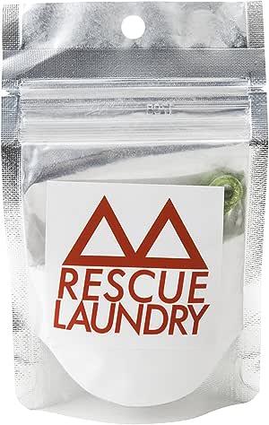 レスキューウォッシュ(RESCUE WASH) トラベルもアウトドアも非常時もエコ洗剤ジップ式50g