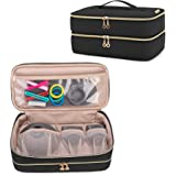 Teamoy Double-Layer Travel Organizer Bag Compatible with Dyson Supersonic Hair Dryer, Portable Travel Storage Bag for Hair Dr