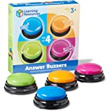 Learning Resources LER3774 Answer Buzzers 3-1/2in