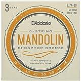D'Addario Mandolin Strings (EJ74-3D)