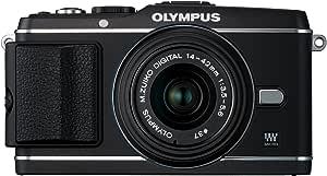 OLYMPUS ミラーレス一眼 PEN E-P3 レンズキット ブラック E-P3 LKIT BLK