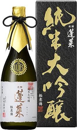 蓬莱 純米大吟醸極意傳 [ 日本酒 720ML ]