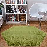 Junovo Ultra Soft Rug for Nursery Children Room Baby Room Home Decor Dormitory,Hexagon Carpet for Playhouse Princess Tent Kid