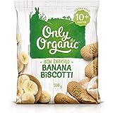 Only Organic Banana Biscotti 10+ Months - 100g