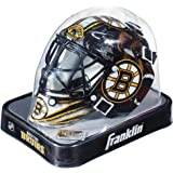 Franklin Sports NHL Team Logo Mini Hockey Goalie Mask with Case - Collectible Goalie Mask with Official NHL Logos and Colors