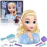 Disney 32806 Frozen 2 Elsa Styling Head (14-Pieces) Fashion Doll