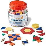 Learning Resources LER0134 Plastic Pattern Blocks Set, 0.5cm,Set Of 250