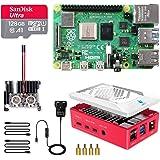 LABISTS Raspberry Pi 4 Model B 8GB RAM [Newest Released] Starter Kit with 128GB Micro SD Card Preloaded Raspberry Pi OS (Rasp