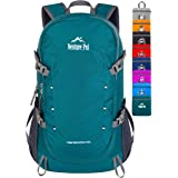 Venture Pal 40L Lightweight Packable Backpack with Wet Pocket - Durable Water Resistant Travel Hiking Camping Outdoor Daypack