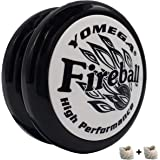 Yomega Fireball - Professional Responsive Transaxle Yoyo, Great For Kids And Beginners To Perform Like Pros + Extra 2 Strings