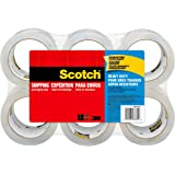 Scotch Heavy Duty Shipping Packaging Tape 48mm x 50m 2350-6 (Pack of 6)