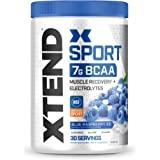 Scivation Xtend Hydrasport BCAA Powder, Branched Chain Amino Acids, BCAAs, Zero Sugar Electrolyte Drink Powder + Hydration, B