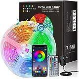 JORAGO WiFi LED Strips Lights 7.5M, TUYA APP Control 5050 RGB Color Changing Lights & AU DC Infrared CE ROHS(SAA Certified)