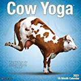 Cow Yoga 2021 Wall Calendar