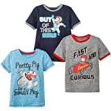 Curious George Boys 3 Pack Short Sleeve Assorted T-Shirt