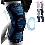 NEENCA Professional Knee Brace,Knee Compression Sleeve Support for Men Women with Patella Gel Pads & Side Stabilizers,Medical