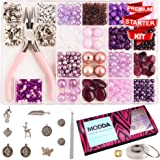Modda Jewelry Making Supplies - Jewelry Making Kits for Adults, Teens, Girls, Beginners, Women - Includes Instructions, Tools