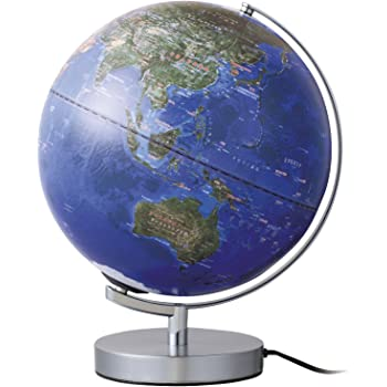 レイメイ藤井 地球儀 衛星画像タイプ ライト付き 30cm OYV257