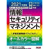 すぐ理解できるオールカラー ニュースペックテキスト 情報セキュリティマネジメント 2021年度版 (TAC出版)