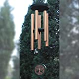 Wind Chimes Outdoor Large Deep Tone,36 Inch Windchimes Outdoor in Memory of Loved One Engraved Tree of Life,Memorial Wind Chi