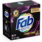 Fab Perfume Indulgence Sublime Velvet, Laundry Powder Washing Detergent, (packaging may vary), 1.8 Kilograms