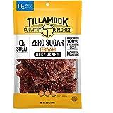 Tillamook Country Smoker Zero Sugar Teriyaki Keto Friendly Beef Jerky, 6.5 oz
