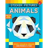 Animals (Sticker Pictures): Color and create, one sticker at a time