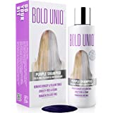 Purple Shampoo For Blonde Hair: Blue Shampoo for Silver and Violet Tones - Banish Yellow Hues: Revitalize Blonde, Bleached &