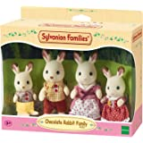 Sylvanian Families 4150 Chocolate Rabbit Family,Figure