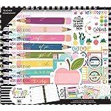 The Happy Planner Big Teacher Box Kit - Back to School Supplies - Teacher's Influence Theme - 12 Month Undated Teacher Organi