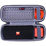 Hard Travel Carrying Storage Protective Case for JBL Flip 4 or JBL Flip 3 Speaker by XANAD (Grey)