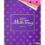 Cadbury Milk Tray Chocolate Box 4 Pack, 4 x 180g