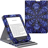 MoKo Case Fits All-New Kindle (10th Generation - 2019 Release Only), Vertical Flip Protective Cover with Auto Wake/Sleep, Wil