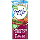 Crystal Light Pomegranate Green Tea Drink Mix (5 Pitcher Packets), 1.65 Oz