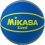 ミカサ(MIKASA) バスケットボール 6号 (女子用・一般・社会人・大学・高校・中学) 人工皮革 レジャー用 ブルー B630Y-MC-BL 推奨内圧0.56(kgf/㎠)