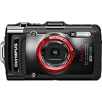 OLYMPUS デジタルカメラ STYLUS TG-2 1200万画素CMOS 15m防水 100kgf耐荷重 ブラック…