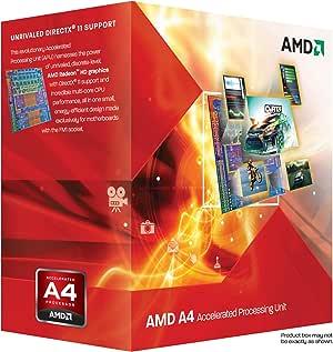 AMD A6-Series APUs A6-3650 TDP 100W 2.6GHz×4 AD3650WNGXBOX