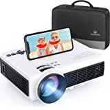 VANKYO Leisure 3W Mini Projector with Synchronize Smartphone Screen, 3600L Portable WiFi Projector Supports 1080P for iOS/And