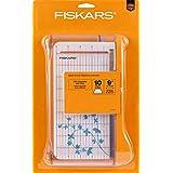 """Fiskars 9"""" Bypass Paper Trimmer (199130-1001),White"""
