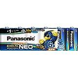 パナソニック エボルタNEO 単1形アルカリ乾電池 6本パック LR20NJ/6SW