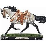 Enesco Trail of Painted Ponies El Vaquero Horse Figurine, 6.25 Inch, Multicolor